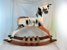 SMALL AUSTRALIAN ROEBUCK ROCKING HORSE MADE FOR TODDLERS C1950'S