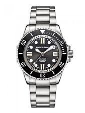 Marc & SONS orologio subacqueo 500m, Swiss ETA 2824-2 automatico bgw9, ceramica, vetro zaffiro