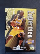 1997-1998 Skybox Z Force Shaquille O'Neal Zupermen Insert Los Angeles Lakers 196