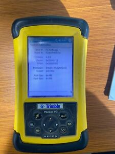 Trimble Pocket PC Data Collector With Alkaline Powerboot Used