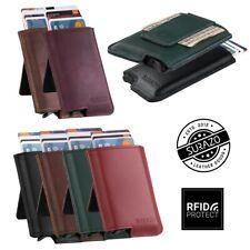 Surazo ® véritable cuir étui porte carte porte monnaie Card Holder Protection RF...