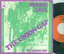 "GARY PUCKETT / UNION GAP YOUNG GIRL (DUTCH CBS 3365) 7""PS"