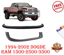 New Front Bumper Cover Valance Combo Kit For 1994-2002 Dodge Ram 1500 2500 3500