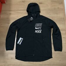 New Nike Windbreaker Spray Parka Jacket Tech Fleece Air Max Hoodie Jumper Coat L