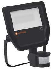 FLOODLIGHT 20W/4000K BLACK SENSOR IP65 - LEDVANCE