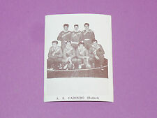 AS CABOURG BASKETBALL HOMMES BISCOTTES LESPEAU 1950-1960