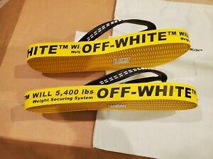 Off White Industrial Flip Flop