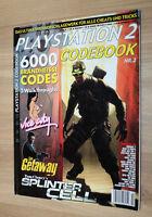Playstation 2 Code Book Splinter Cell GTA Vice City The Getaway Walkthrough