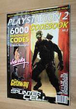 PLAYSTATION 2 codice BOOK Splinter Cell GTA Vice City The Getaway ANIMAZIONE