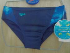 "Speedo homme sabler endurance 8cm côtés natation trunks taille uk taille 30"" 75cm"