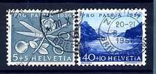 SWITZERLAND - SVIZZERA - 1956 - Pro Patria. Vedute diverse. E1369
