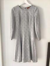 ☆ MISSONI Kleid DE34 IT40 SILBER Damen Dress Robe Strick EDEL Weihnachten ☆