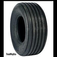 TWO 11L-15 RIB IMPLEMENT EQUIPMENT TIRES 12 PLY RATED HEAVY DUTY I-1 TUBELESS
