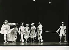 "PHOTO ORIGINALE : THEATRE DU SILENCE ""Le cordon infernal"" 1978 BALLET"