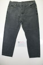 wrangler relaxed fit big size (Cod.Q318) Tg58  W44  L32  jeans usato .