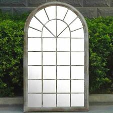Gothic Rustic Arch 130cm Garden Mirror Indoor Outdoor Vintage Glass Wall Large
