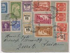 Lettre Recommandée Recouvrement Monaco pour la Suisse Zurich Cover