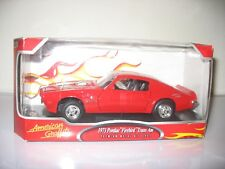 1973 RED PONTIAC FIREBIRD TRANS AM
