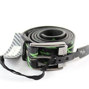 Lowlife Flash Black Size L Belt Black Green