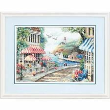 Dimensions - Counted Cross Stitch Kit - Cafe by the Sea - D35157