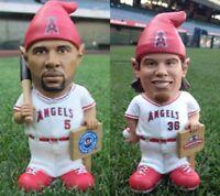 Albert Pujols Gnome Jered Weaver Gnome LA Angels SGAs 5-20-14 6-6-14