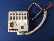 Coleman Powermate Emergen Switch Tk65000 125 Vac 20 Amp Input 15 Amp Output Max