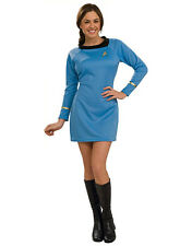 "Star Trek Original Womens Blue Costume, XS, (USA 2-6), BUST 33-35"", WAIST 25-26"""