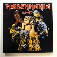 Iron Maiden Maidenmania 80-87 12.7x30.5cm Box Set Greece Near-Mint Vinyl 1303