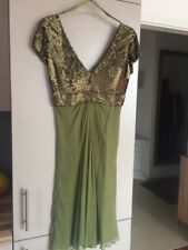 Designer Pailetten-Kleid von Barbara Schwarzer, Gr. 36, wie neu