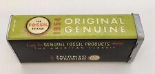 Fossil Brand Vintage Print Original Eyeglasses Sunglasses Hard Storage Case