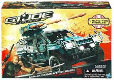 G.I. JOE Retaliation Collection__NINJA COMBAT CRUISER with NIGHT FOX figure__MIB