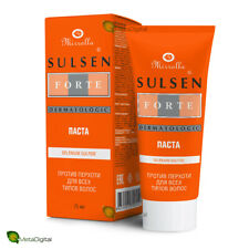 Paste SULSEN Forte 2% - Treatment of Dandruff and Scalp Diseases. Quick results.
