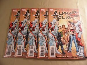 Alpha Flight #11 (Marvel 2005) Lot of 5 issues / Free Domestic Shipping