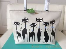NWT Kate Spade JAZZ THINGS UP CAT Francis Travel Tote Bag with Crystals LAST 1