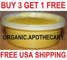 Grade A 100%NATURAL PURE  RAW UNREFINED AFRICAN SHEA BUTTER YELLOW 8oz CONTAINER