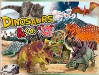DeAgostini Dinosaurs & co Maxxi Edition 5 Booster / Figuren Dinosaurier