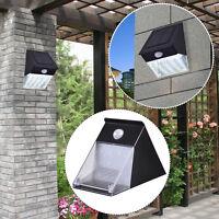 6 Pack 12-LED Solar Power Motion Sensor Spot Flood Light Outdoor Garden Security