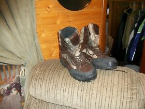 Men Size 11.5 Big Country LaCrosse Hunting Camo Scent-HD Waterproof BOOTS
