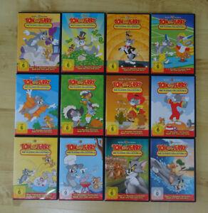 TOM und JERRY - THE CLASSIC COLLECTION 1-12 DVD Sammlung