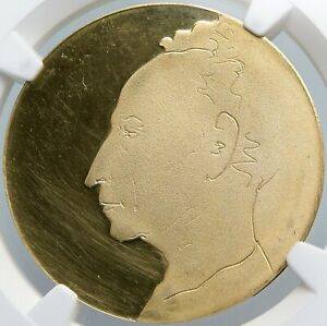 1974 ISRAEL Piano MUSICIAN ARTHUR RUBENSTEIN Competition GOLD Medal NGC i89080