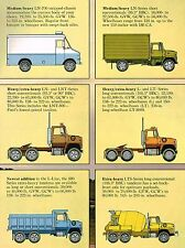 1974/1975 Ford L LINE TRUCK Brochure : 900,LTS,LN,LNT,LT,8000,9000,Conventional,