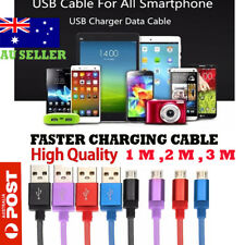1/2/3M USB to Micro USB Mini Data Charging Cable for Samsung LG Sony HTC Huawei