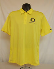 Oregon DUCKS Volleyball TEAM ISSUED Nike COLLAR SHIRT Men's SMALL Button Up Polo