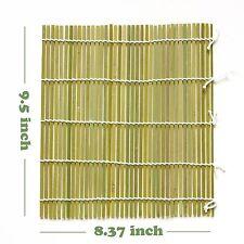 "Daiwa Japanese 9.5"" x 8.37"" Professional Large Bamboo Sushi Rolling Mat"