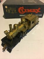 United Scale Models Brass Climax Geared Locomotive Made In Japan