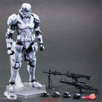 """Play Arts Kai Square Enix Star Wars Storm Trooper VARIANT 10"""" Figure Collection"""