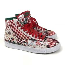 Nike Women's Shoes Blazer Mid QS Christmas Pack High Top Holiday Sneakers Sz 6.5
