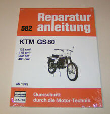 Reparaturanleitung KTM GS 80 - 125 cm³, 175 cm³, 250 cm³, 400 cm³ - ab 1979!