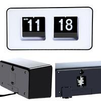 Retro Auto Flip Clock Classic Stylish Modern Desk Wall Digital Clock Widely Used