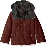 London Fog Infant Boys Green Sherpa Lined Coat Size 12M 24M $76
